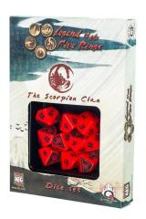 d10 Scorpion Clan Dice Set (10)