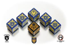 Cygnar Faction Dice (6)