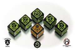 Cryx Faction Dice (6)
