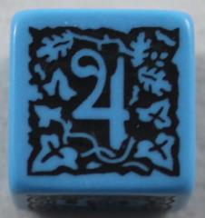Q-Workshop Promo d6 Blue w/Black
