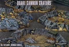 Warhammer 40K Quake Cannon Craters