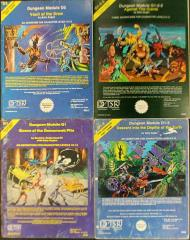 AD&D Queen of the Demonweb Pits - Complete Series, 4 Modules!