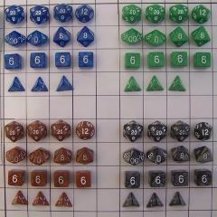 Polyhedral Dice - Special Set #1 (60)