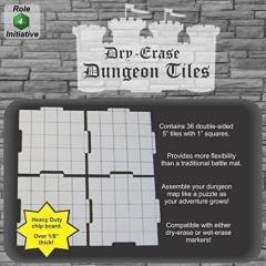 """Dry Erase Dungeon Tiles - 5"""" (36)"""