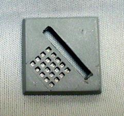 "1"" Square Base - Grate"