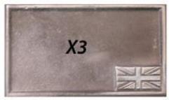 "WWII Battle Base - British, 3"" x 2"""