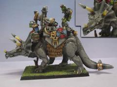 Hartha the Death Machine - Orc Triceratops