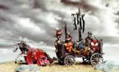Skeleton War Wagon