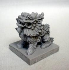 Qi Lin - Chinese Lion w/Base