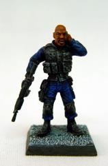 Man, The - SWAT Team Leader