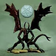bb44e79f35 Nightgaunt Demonic Servitor - Call of Cthulhu Mini - Noble Knight Games