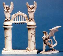 Cemetery Gargoyle