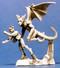 Attacking Gargoyle w/Victim