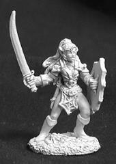Dark Elf Female Warrior