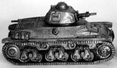 French H-39 Tank