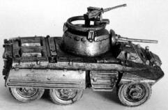 US M-8 Armored Car w/37mm Gun