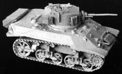 British M-5 Stuart Light Tank