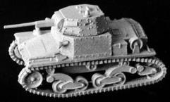 Italian L6/40 Light Tank