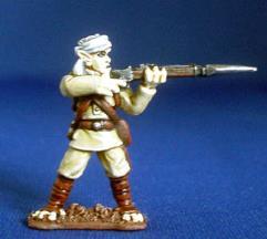 Martian Colonial Infantry - Firing