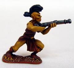 Canal Martian Infantry w/Musket, Firing