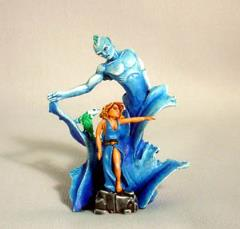 Water Elemental & Sea Witch