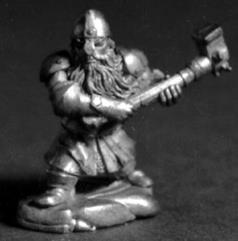 Dwarf Fighter w/Hammer
