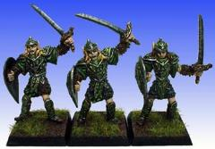 Elves w/Sword & Shield