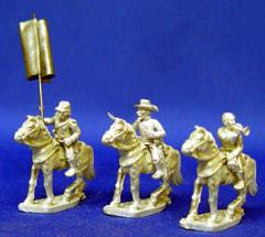 Confederate Cavalry Command Set
