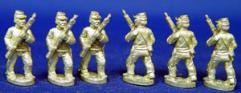 Confederate Infantry w/Kepi - Advancing