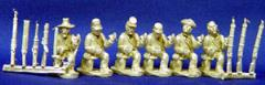 Infantry Kneeling w/Assorted Heads & Weapons