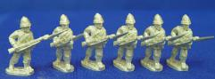 British Infantry w/Sun Helmet - Advancing