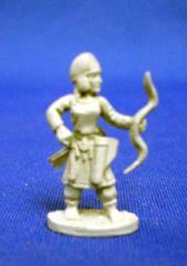 Scythian Noblewoman on Foot w/Bow