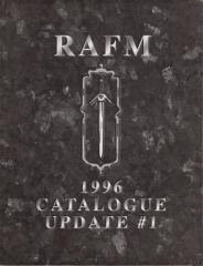 RAFM 1996 Catalog - Update #1
