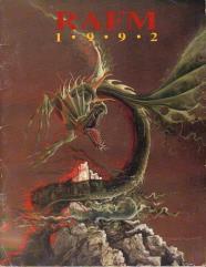 RAFM 1992 Catalog