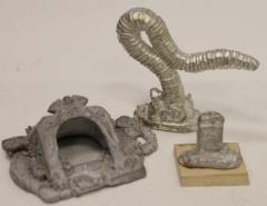 Crypt, Tombstone & Giant Worm #1