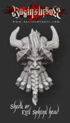 Shedu/Evil Sphinx Head