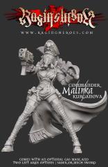 Kommander Malinka Kurganova