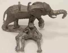 Armored Giant on War Elephant #1