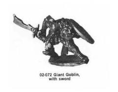 Giant Goblin w/Sword