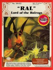 "Advanced Dungeons & Dragons - ""Ral"" Lord of the Balrogs"