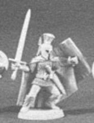Fighter w/Buckler, Dagger & Sword