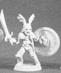 Fighter w/Shield, Sword & Winged Helm
