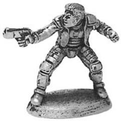 Ryan Mercury Human Physical Adeptsecret Agent Shadowrun Mini