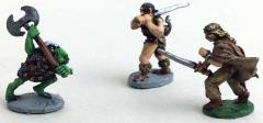 2 on 1 - Fighter & Barbarian vs. Orc