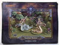 Infernal Elves - Serpent Riders