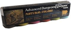 Advanced Dungeons & Dragons - Natural Colors (6)