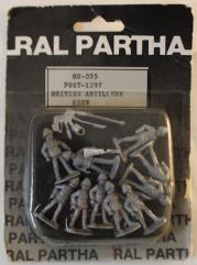 Bristis Artillery - Post 1897