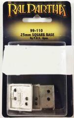 25mm Square Base