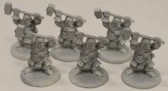 Dwarf Fighters w/Warhammers Collection #2