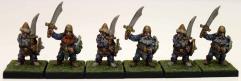 Dwarves w/Swords Collection #1